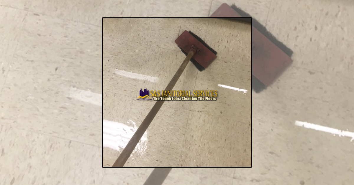 The Tough Jobs: Cleaning Tile Flooring