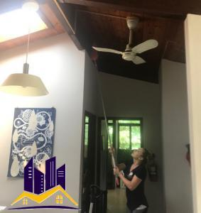 Easy Fall Cleaning Tips - Ceiling Fans